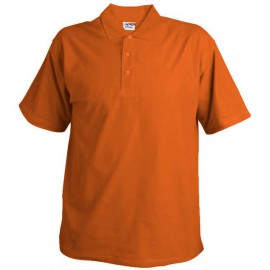 oranžové polo hladké