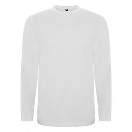 bílé tričko s dlouhým rukávem