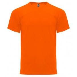 Svítivé oranžové sportovní tričko Monaco
