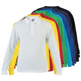 Pánské tričko s límečkem, dlouhý rukáv, Estrella